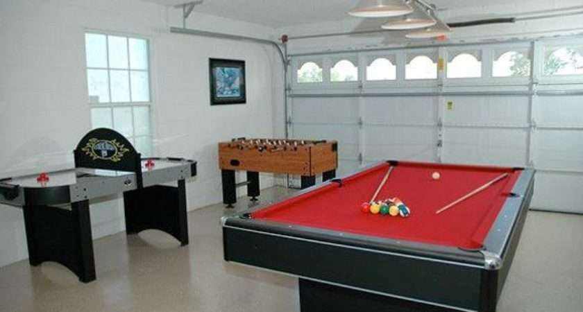 Cool Ideas Turn Your Garage Into Game Room