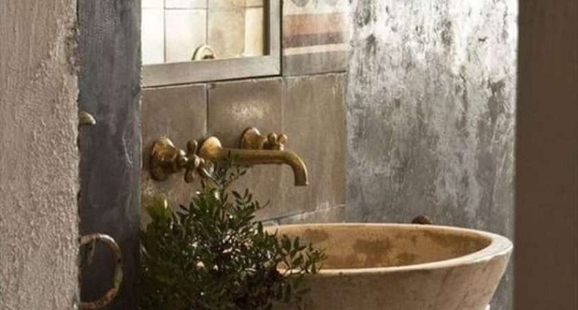 Cool Natural Stone Sinks Design Ideas