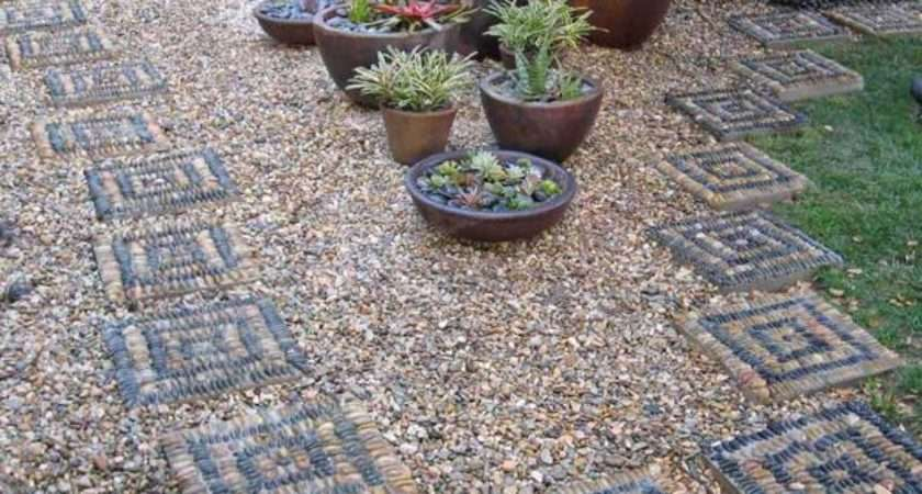 Cool Pebble Pathway Design Ideas Lavishly Garden