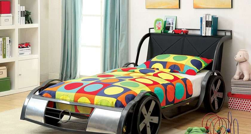 Cool Racing Car Bedroom Furniture Kids