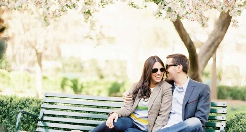 Cool Spring Engagement Ideas