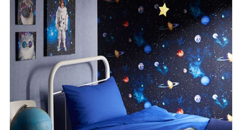 Cosmos Space Charcoal Arthouse Kids