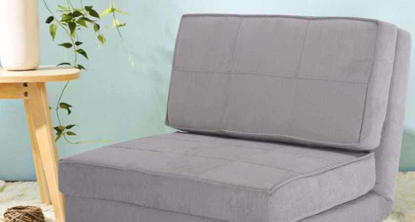 Costway Fold Down Chair Flip Out Lounger Convertible