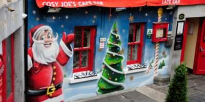 Cosy Joes Wesport Christmas Mural Painting Featurtewqlls