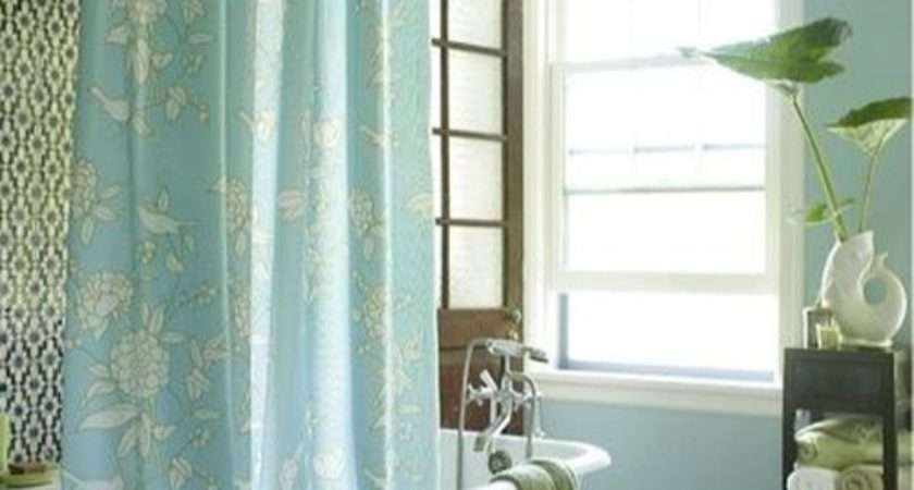 Cottage Bathroom Curtain Ideas Home Decor Interior Design