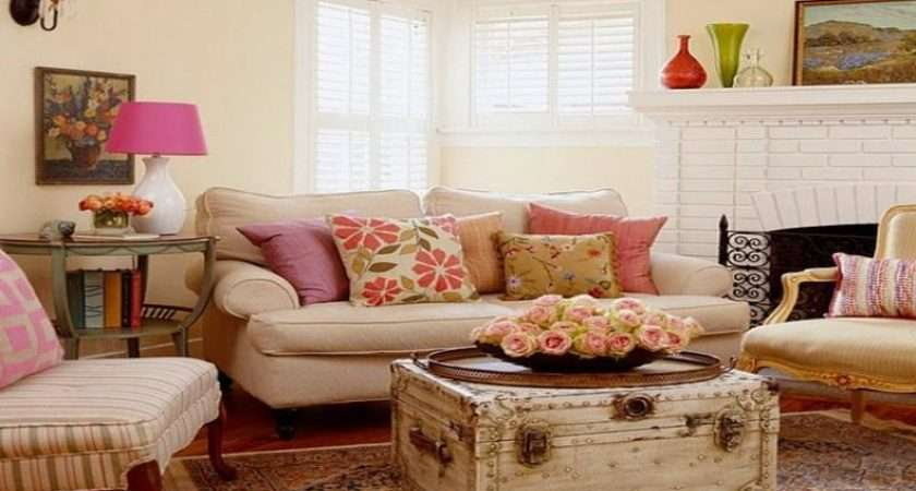 Cottage Country Decor Small Living Room