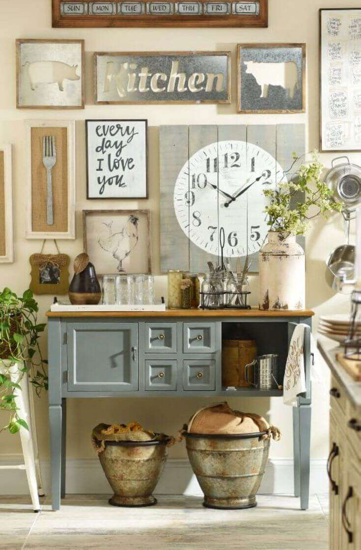 Cottage Style Wall Decor Home Decorating Ideas