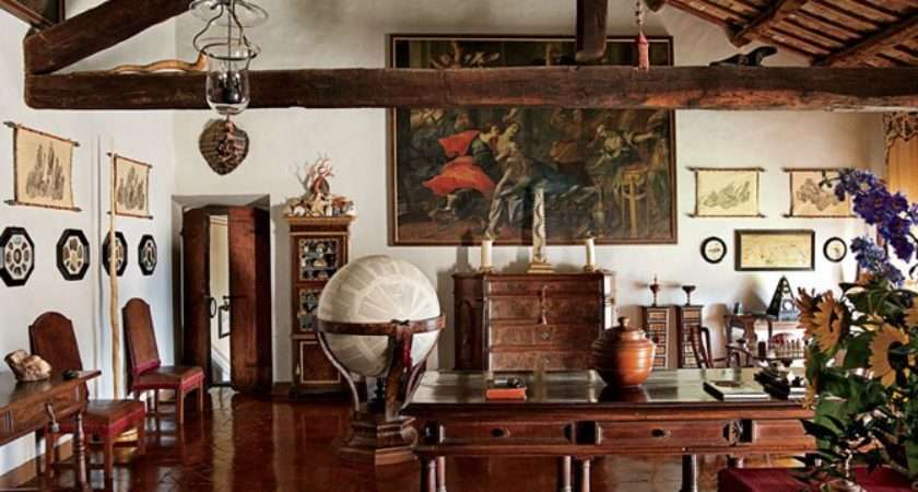 Count Raniero Gnoli Well Curated Centuty Home
