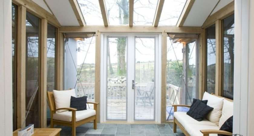 Counting House Oak Framed Glazed Conservatory Extension