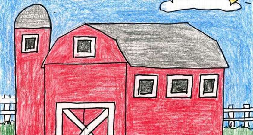 Country Barn Art Projects Kids