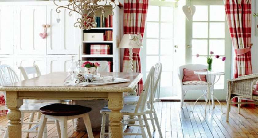 Country Dining Room Decorating Ideas Cottage Living