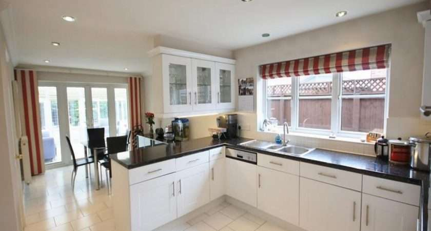 Country Dining Room Lighting Open Plan Kitchen