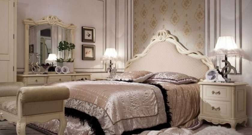 Country French Style Furniture Bedroom Set