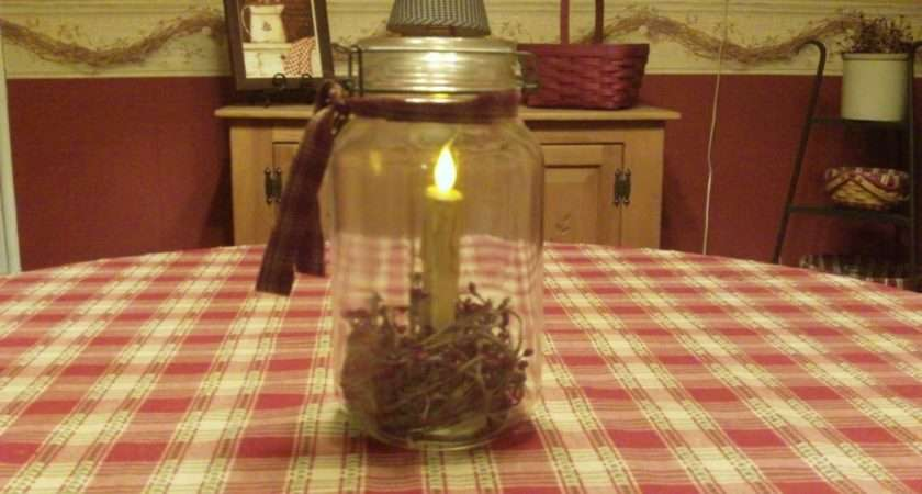 Country Home Decorating Ideas Canning Jar Idea Michelle