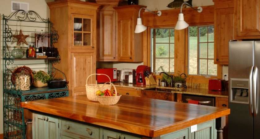 Country Kitchen Islands Designs Choose Layouts