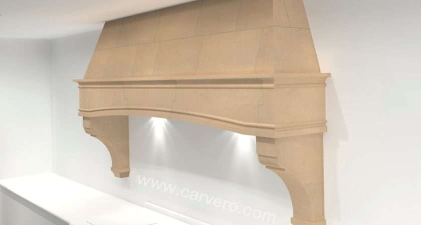Country Kitchen Stone Canopy Cooker Hood Aga Surround