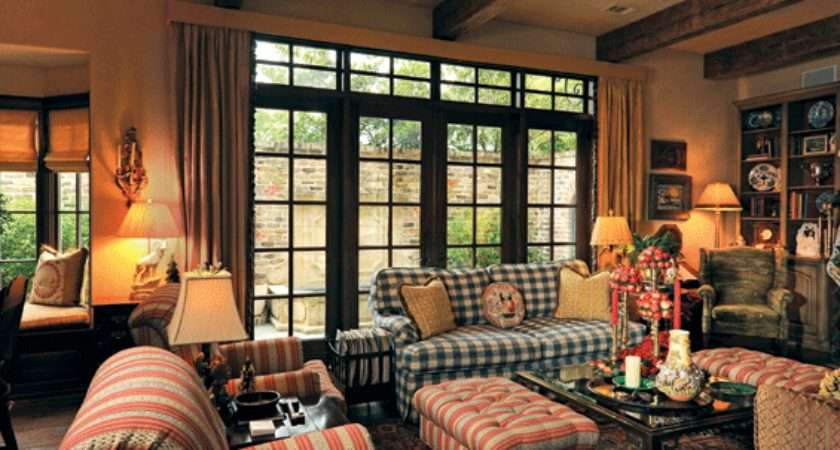 Country Plaid Living Rooms Modern Home Design Ideas