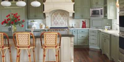 Country Style Colorado Home French Decorating Ideas