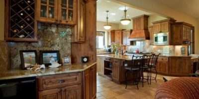 Country Style House Kitchens Design