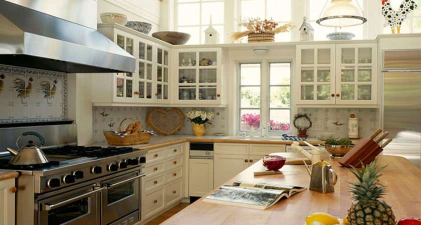 Country Style Kitchen Creating Cosy Comfortable