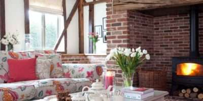 Country Style Living Room Cosy Design Ideas