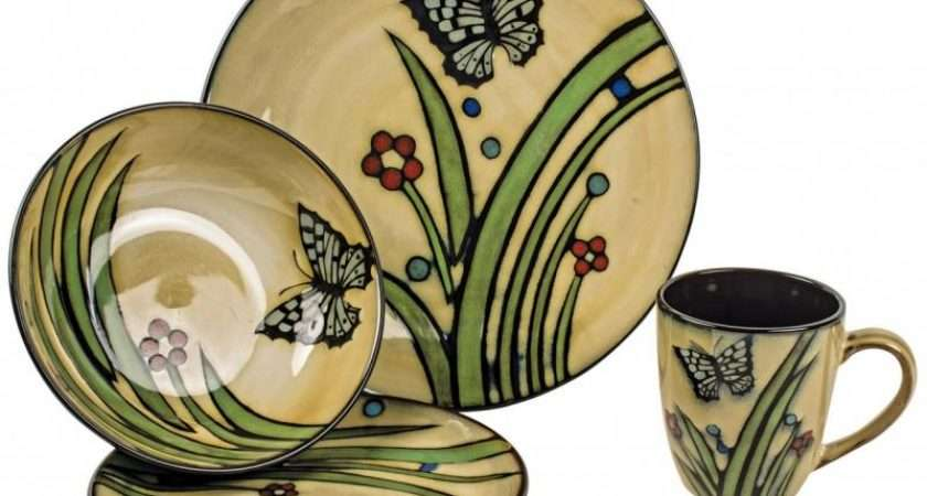 Country Style Piece Dinner Service Crockery Set