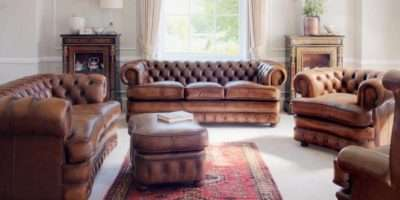 Country Style Sofa Cottage Living Room Furniture