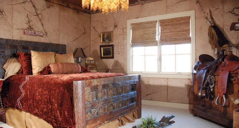 Cowboy Themed Guest Bedroom