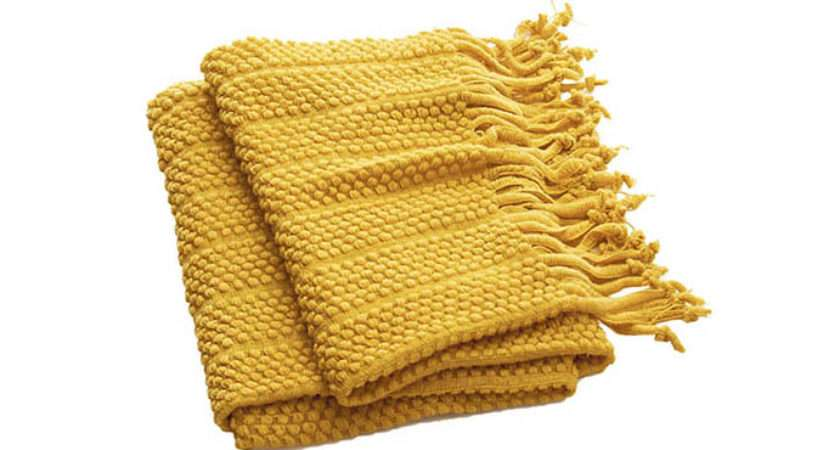 Cozy Colourful Throws Fall Western Living