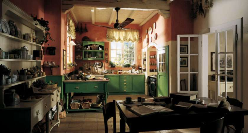 Cozy Cottage Kitchen Interior Design