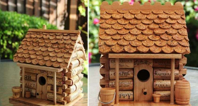 Craft Project Wine Cork House Find Fun Art Projects Home