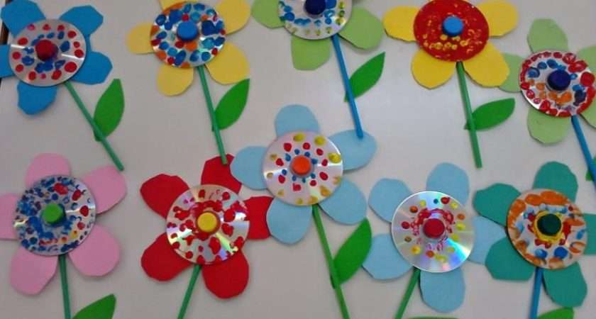 Craft Projects Flower Ideas