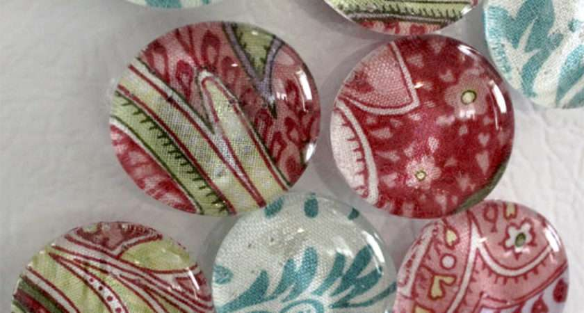 Craft Shows Glass Magnets Look Nice Easy Make Sell