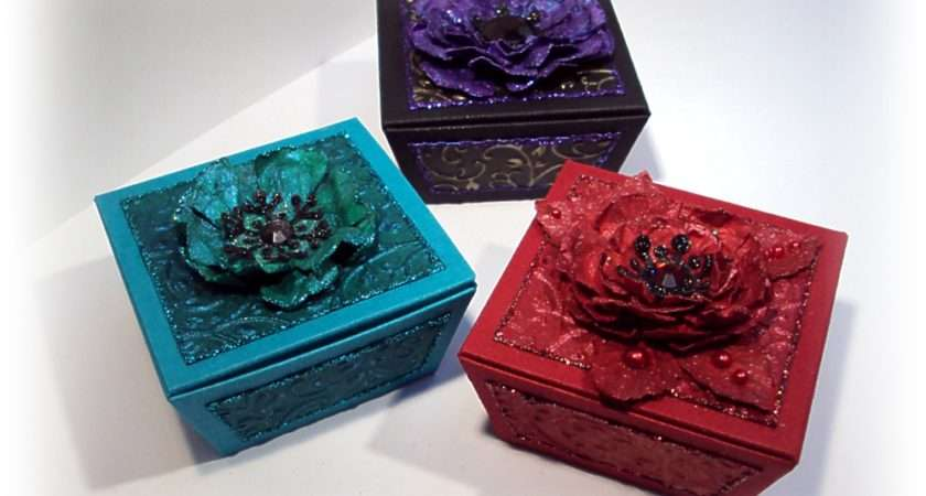 Crafticious Template Christmas Favour Gift Boxes
