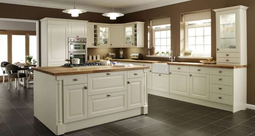 Cream Kitchen Cabinets Trends Furniture Soft Color