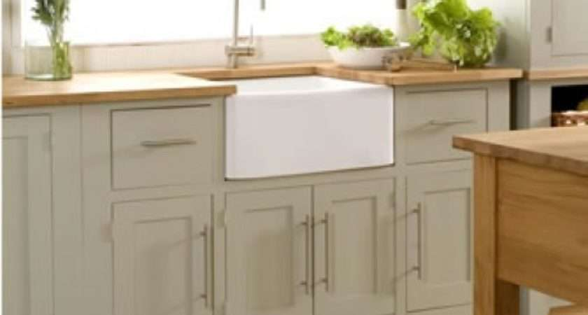 Creamery Kitchens Living Kitchen Freestanding Belfast Sink