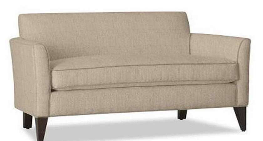 Creamy Small Sofas Spaces Sectional Sofa