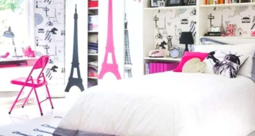 Create Charming Girl Room Paris Style