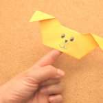 Create Origami Puppy Finger Puppet Steps