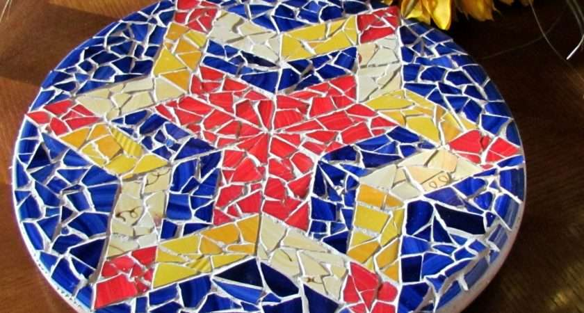 Creating Mosaics Using Glass Pieces Can Difficult But Found