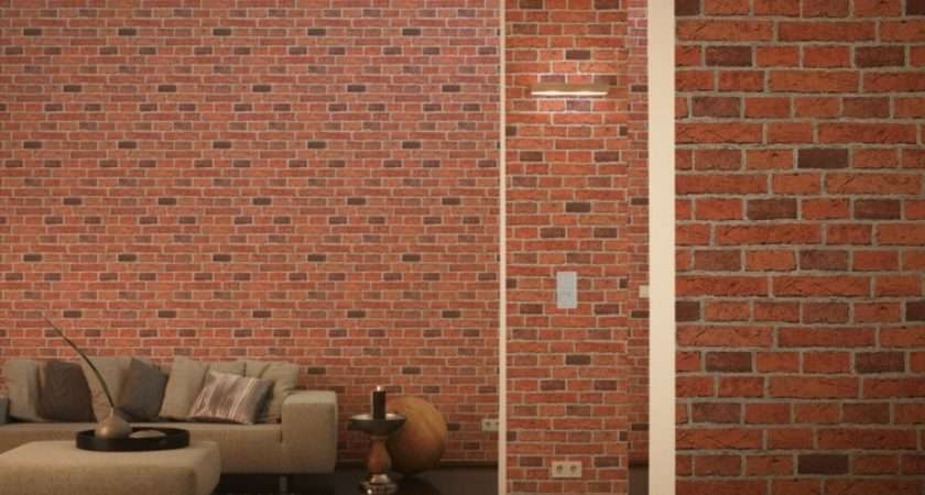 Creation House Brick Pattern Faux Effect Embossed