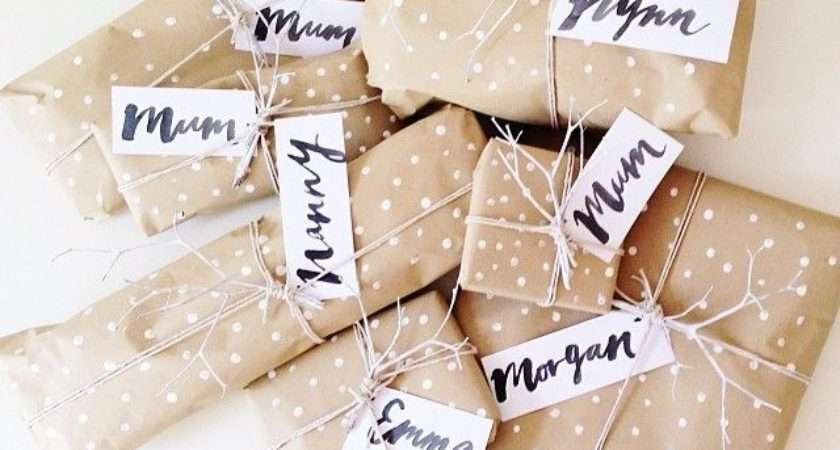 Creative Kraft Paper Wrapping Ideas Design