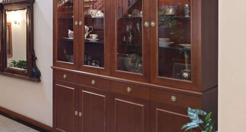 Crockery Cabinet Classical Dining Room Bhk Rentechdesigns