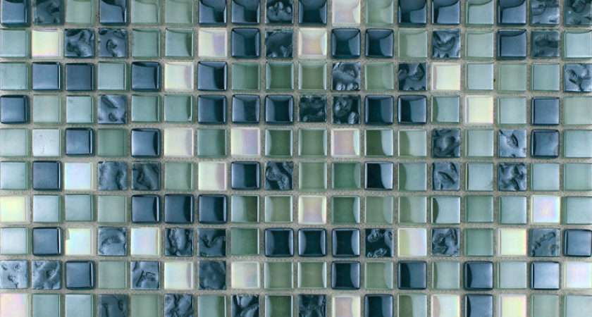 Crystal Glass Mosaic Sheet Art Wall Stickers Kitchen
