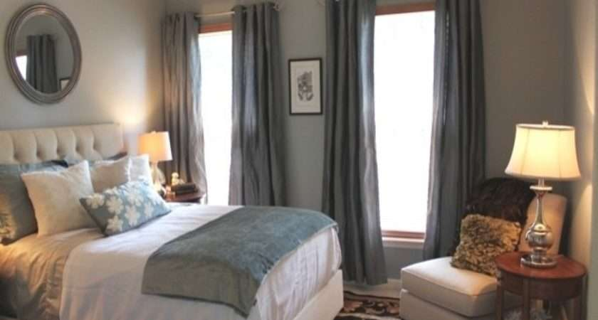 Curtain Color Blue Walls Grey Bedroom Colors