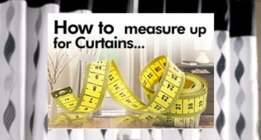 Curtain Measuring Guide Bolton