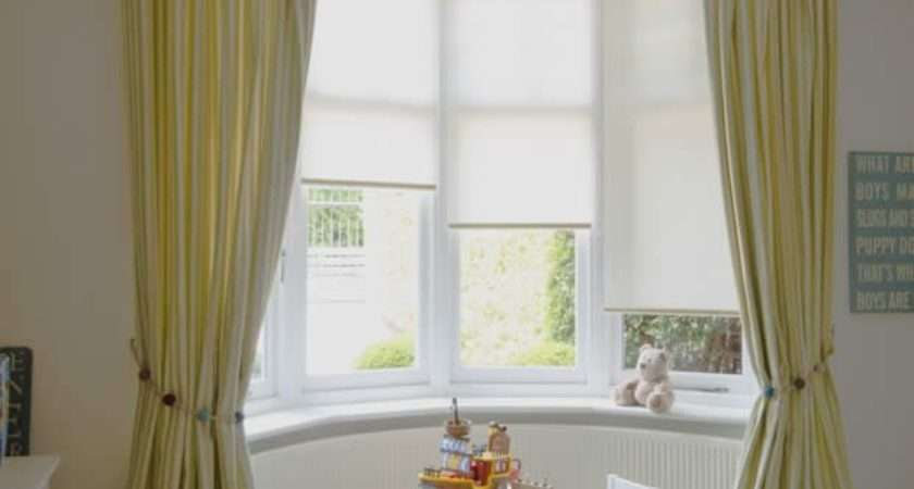 Curtains Blinds Bay Windows Dressing