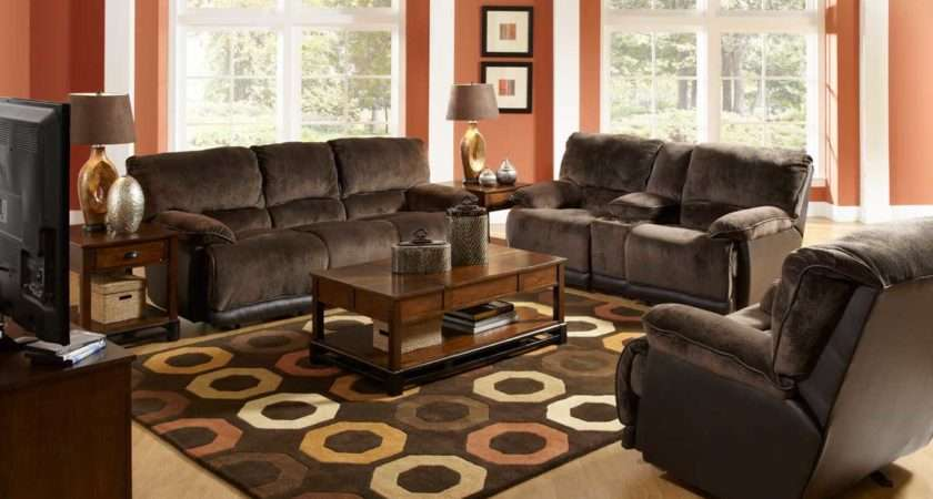 Curtains Living Room Brown Furniture Dark Themed