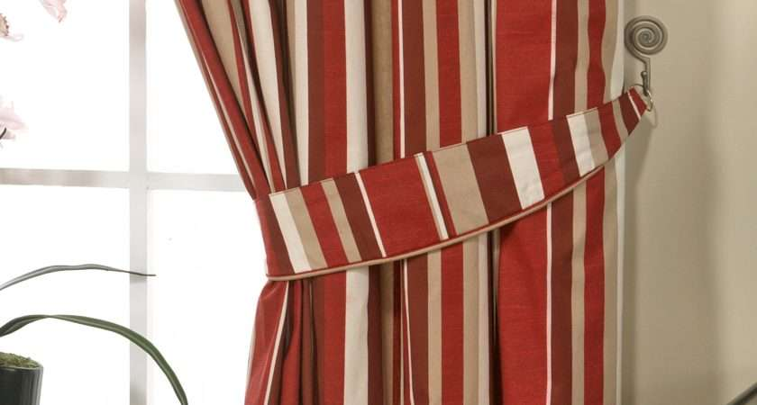 Curtains Ready Made Inch Pencil Pleat Stripe