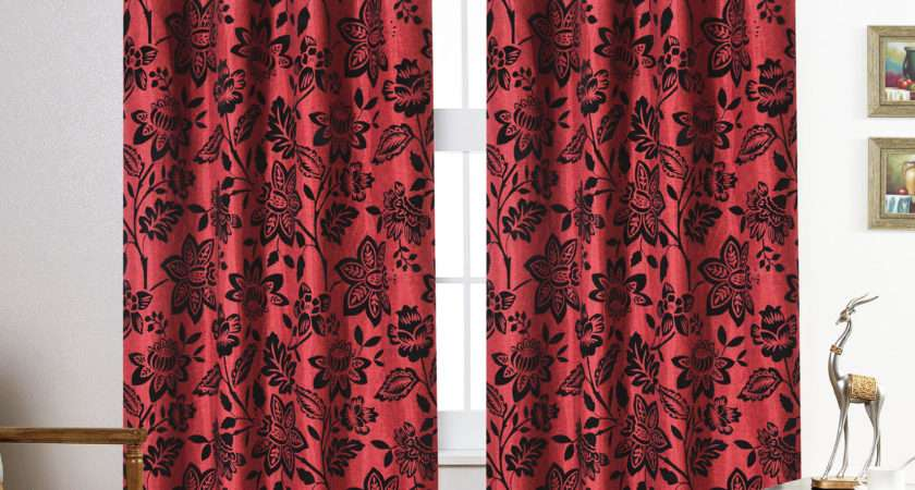 Curtains Ring Top Fully Lined Pair Eyelet Ready Curtain Lucy